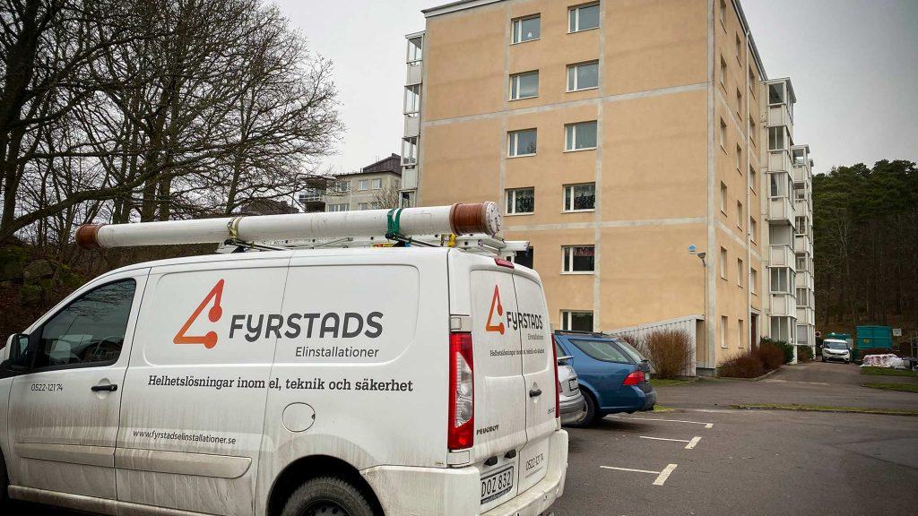 Fyrstads El gör ROT-installation på Skogslyckan på uppdrag av Uddevallahem